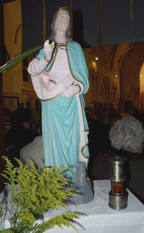 Messe de Sainte Barbe patoisante à l' église Saint Théodore de Lens