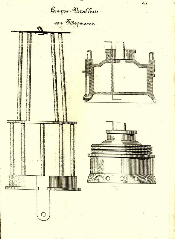 Lampen Atlas antique de Berlin Verlag Von Ernst & Korrn édition 1886