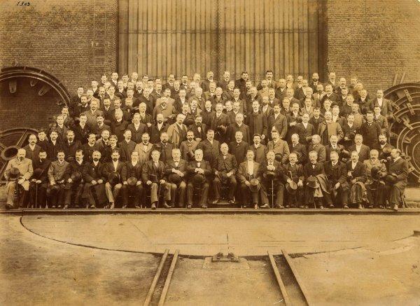 Anciennes photos de la Compagnie des Mines de Bruay en 1900