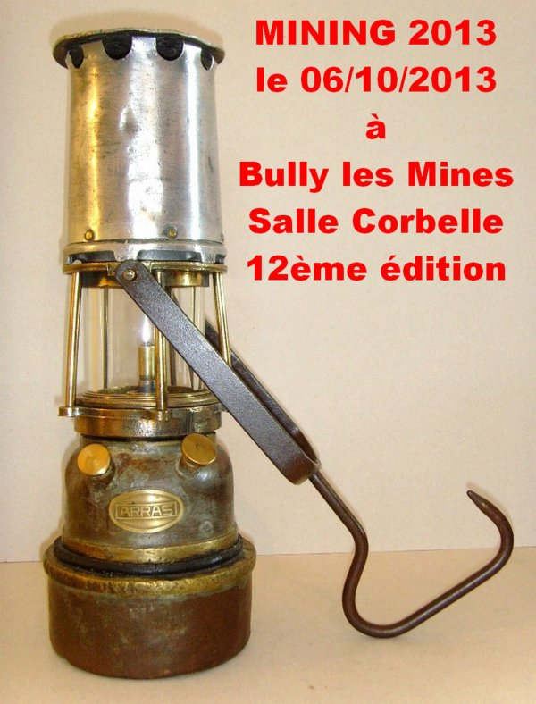 Mining de Bully les Mines - 12ème salon international de l' objet minier