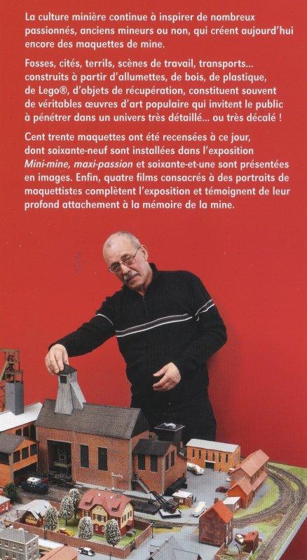 Exposition de maquettes au Centre Historique Minier de Lewarde du 22/06 au 31/12/2013