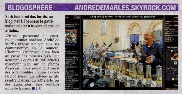 Journal La Voix du Nord , mercredi 17 juillet 2013.