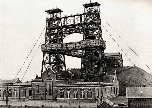 Photos anciennes des mines de Lens vers 1910 - 1920 -  1/3