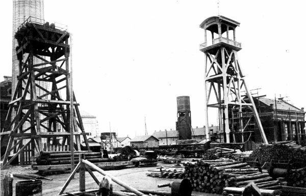 Photos anciennes des mines de Lens vers 1910 - 1920 -  3/3