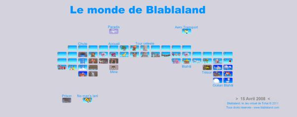 Carte de Blablaland