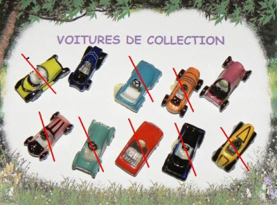 voitures de collections