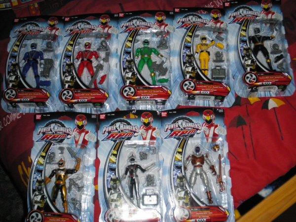 Mes jouet power rangers rpm 100 power rangers - Ranger les jouets ...