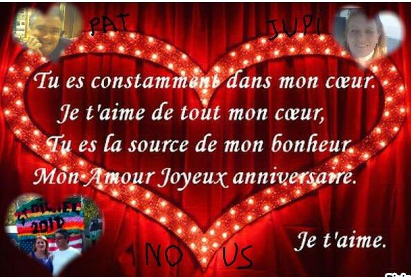 bonne annif  !!!!!! jtm mon coeur !!!!!