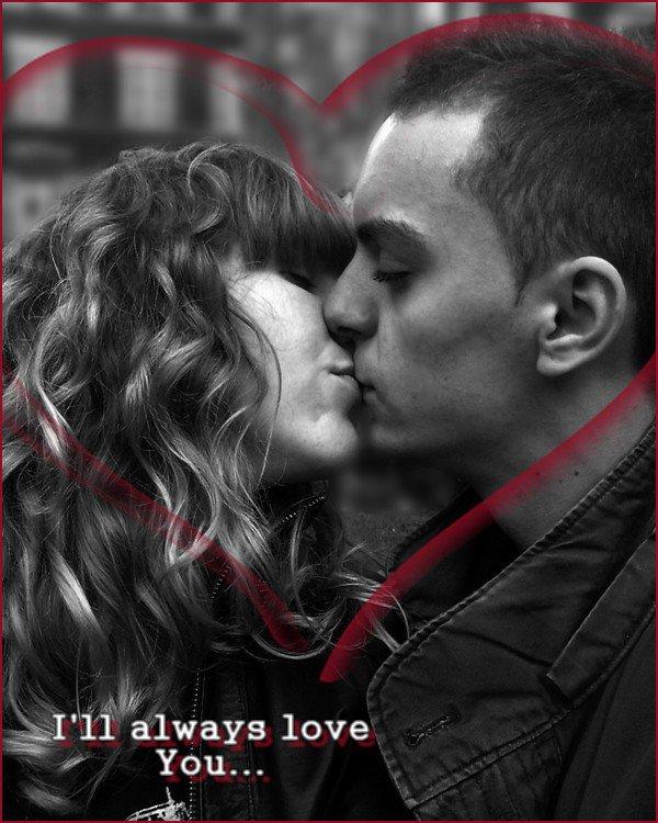 « Nous nous embrassons. Et c'est comme si nous oublions le monde. »
