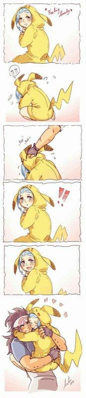 Gajil et Reby en pokemon
