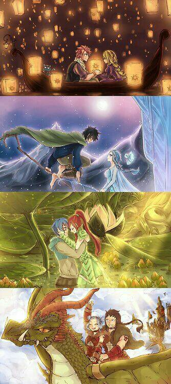 Fairy tail disney