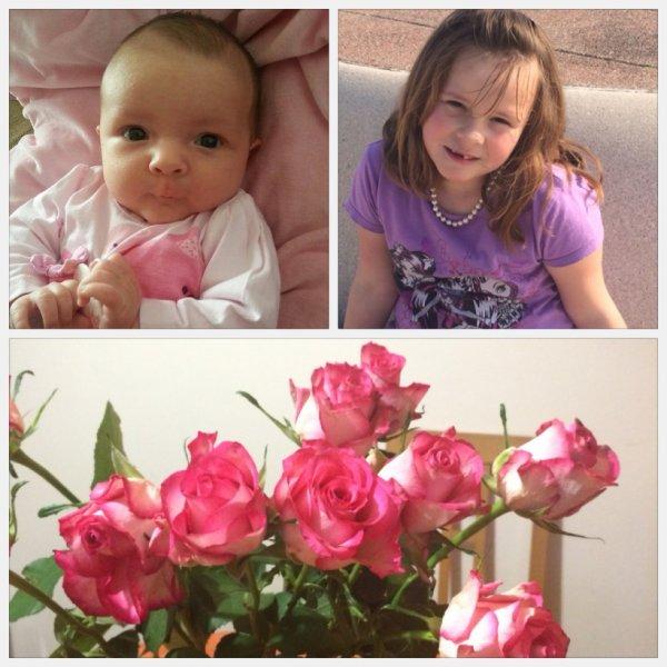 ma 2e des filles KIM et ma petite fille SHANA