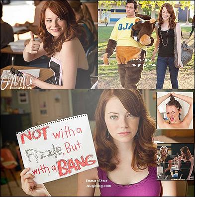 .  FILMOGRAPHIE_____Zoom sur premier rôle principal d'Emma dans la comédie «Easy Girl» sortie en 2010.    .