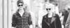 07.05.2013 : Emma et Andrew  promenaient leur chien Ren dans New-York, j'adore sa veste.