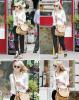 23.05.2013 : Emma Stone (seule), un café à la main dans les rues de New-York City.