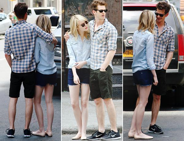 31.05.2013 : Stonefield a été vu dans NYC, seuls puis avec le frère d'Andrew, ses 2 enfants et sa femme.