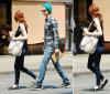 25 & 26.06.2013 : Emma Stone (de nouveau rousse) et Andrew ont été vu dans New-York city.  Franchement je vais être honnête je préfère Emma avec sa couleur naturelle, donc en blonde. Vous avez une préférence ?