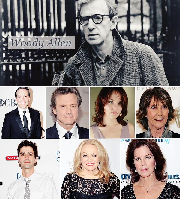 Découvrez le casting au complet du prochain film de Woody Allen avec Emma.