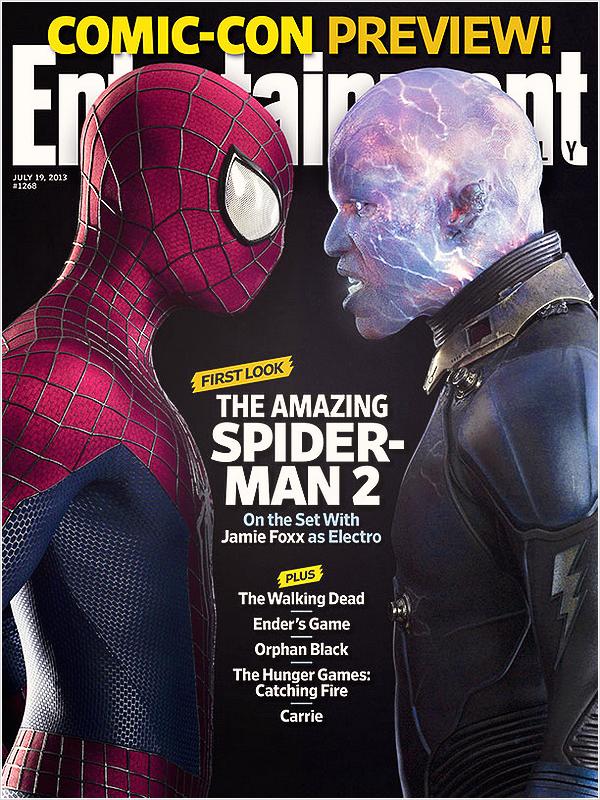 Couverture de Entertainment Weekly's magazine et stills de TASM 2 pour le Comic Con. Je rappel que le comic-con a lieu du 17 au 21 juillet à San Diego. Emma ne sera surement pas présente si elle tourne le film de Woody Allen.