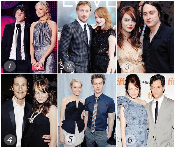 Dans ses films Emma a été en couple avec plusieurs acteurs mais quel couple préférez-vous ?  VOTEZ au pixule, vous avez le droit de choisir qu'un seul couple.___