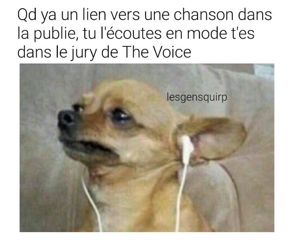 Je juge la musique moi