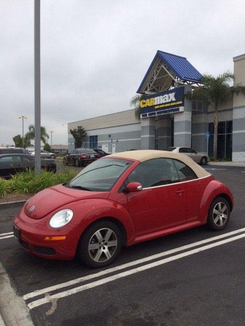Beetle vendue...