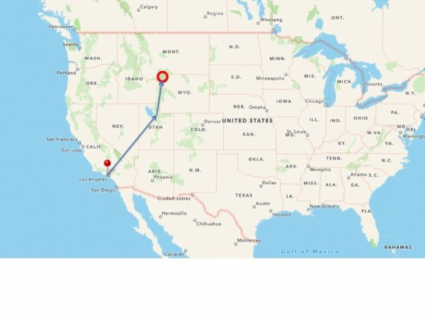 les vacances à Yellowstone