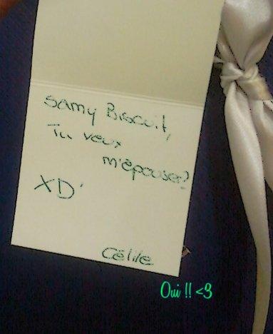 Cécy&Samy se sont fiancé