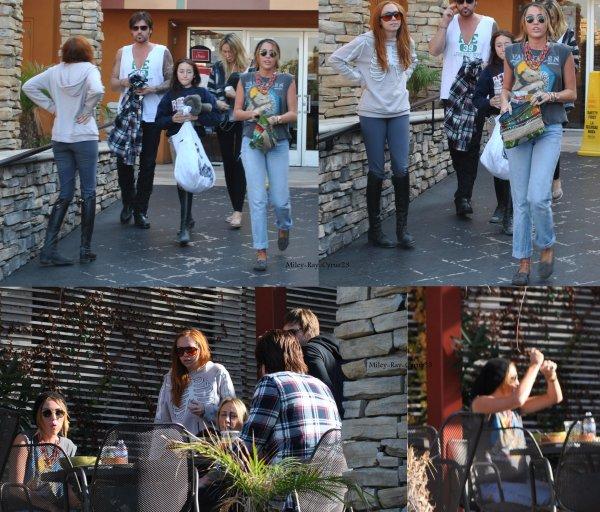 Miley De retoure a LA