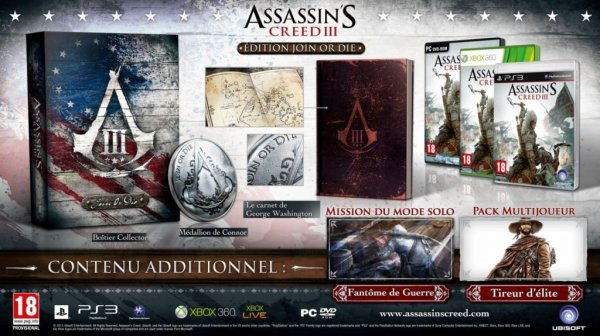 ma collection sisi  Assassin's Creed 3 Freedom Edition