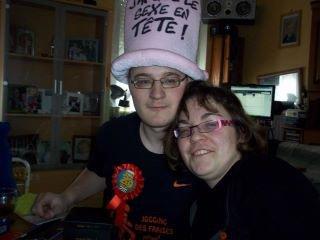 moi et ma fiancee pour mon anniv 20 ans