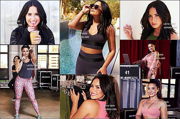 *  Découvrez de nouvelles photos de Demi L. pour le shoot de la marque, « Fabletics » !   *