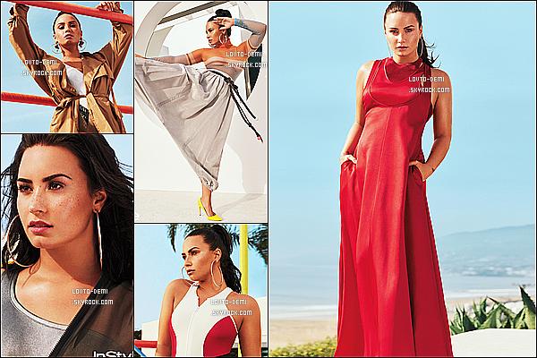 *  Découvrez un photoshoot de Demi pour le magazine « InStyle UK » du mois d'avril !   *