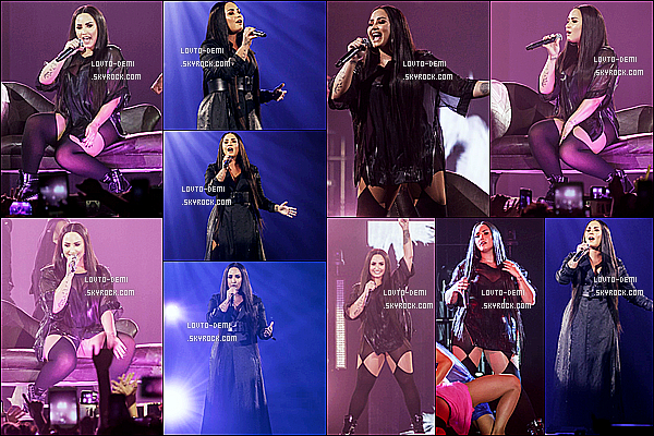 * 21/06/18 :    Demi a donné un concert pour le « Tell Me You Love Me Tour », au Sant Jordi Club - situé à Barcelone. Demi continue sa tournée en Europe. Elle a posé avec ses fans lors d'un Meet & Greet. Elle est  très jolie. J'aime une fois de plus ses tenues - Des Tops !  *