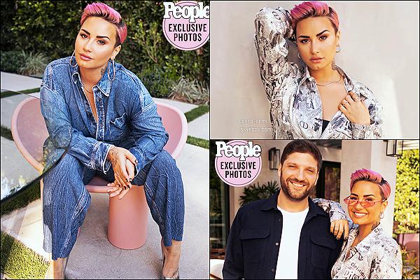 * * '-Photoshoot ●-  Voici des photos de Demi Lovato - issues du magazine «People Magazine ». *