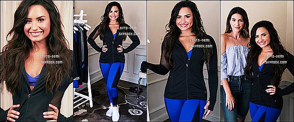 *  Voici un nouveau photoshoot de Demi pour le site web de « Thrifts and Threads » !   *
