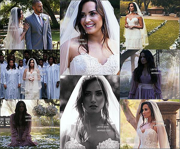 *  Voici les stills du clip de Demi L. « Tell Me You Love Me »  qui est sorti récemment !   *
