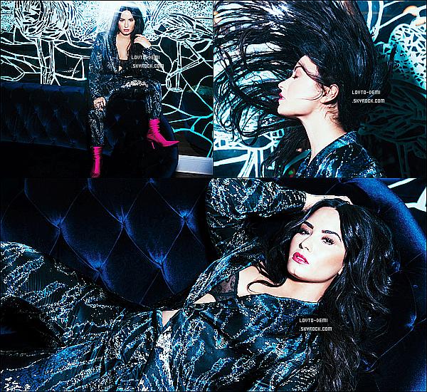 *  Découvrez un nouveau photoshoot de Demi Lovato pour le « Billboard Magazine »!   *