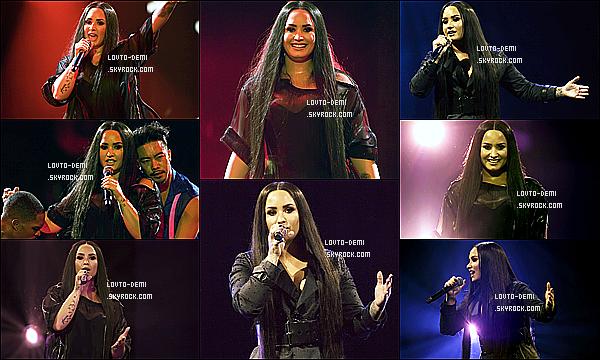 * 13/06/18 :    Demi Lovato donnait un concert pour sa tournée « Tell Me You Love Me Tour » - à Glasgow, en Écosse. Demi a pu donnait ce concert car elle se sentait beaucoup mieux. Elle a posé avec ses fans lors d'un Meet & Greet comme habituellement. C'est un Top !  *