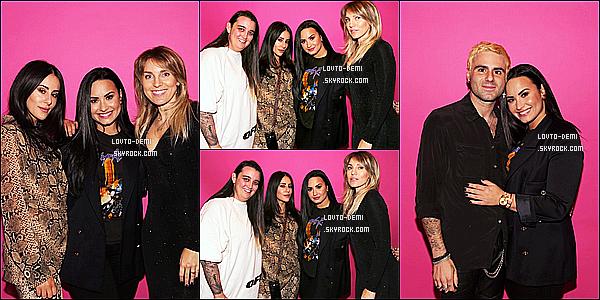 * 15/12/18 :    Demi était présente lors de l'événement « Bless It Bag Launch Party » - se déroulant dans Beverly Hills. Demi s'y est rendue avec son petit ami Henri. Ca fait plaisir d'avoir un événement de Demi. Elle est vraiment ravissante. J'aime bien sa tenue - Donc Top.  *