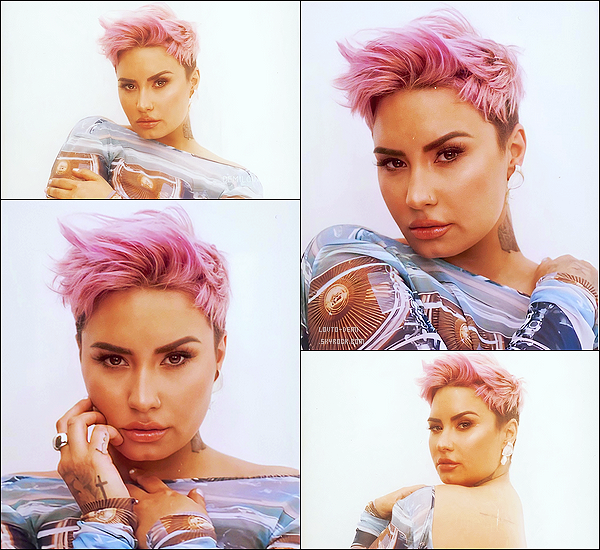 * * '-Photoshoot ●-  Voici de nouvelles photos de Demi L. pour le shoot du magazine «Glamour ». *