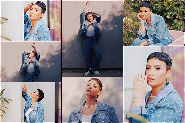 * * '-Photoshoot ●-  Découvrez des clichés de Demi issues du magazine «The New York Times ». *