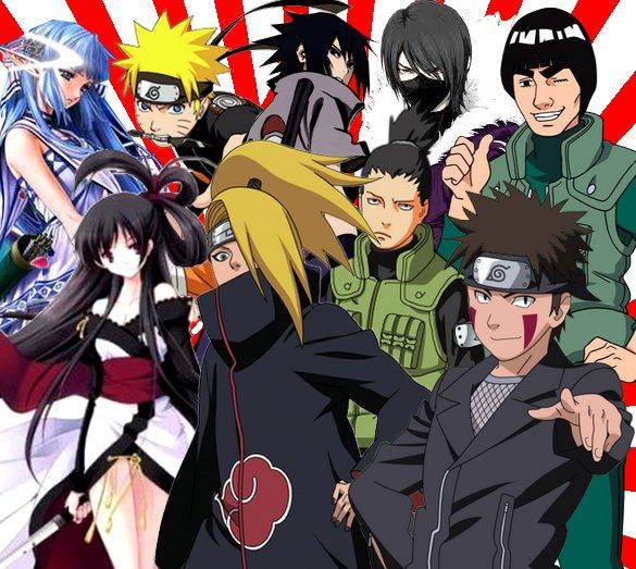 Fiction: Couples différents et nouveaux ninjas/ Missions périlleuses