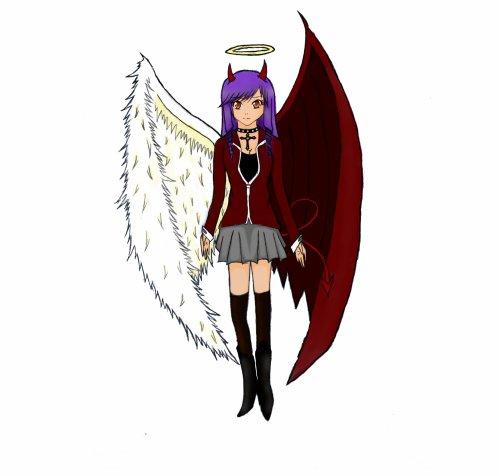 Dessin ange d mon blog de fic sasunaru yaoi - Dessin ange demon ...