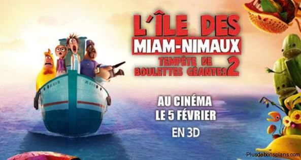 La sortie 05 février au cinéma - Tempête de boulette géante 2 !