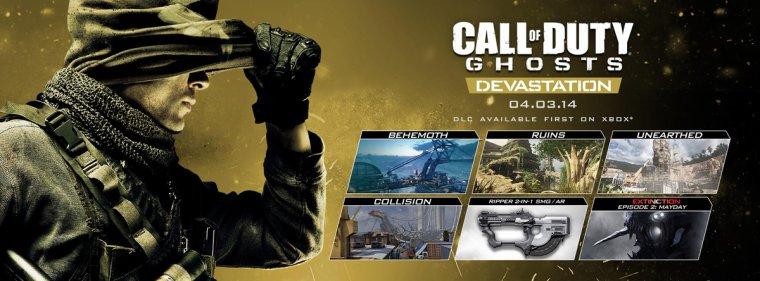 Ghost - Nouveau DLC Devastation