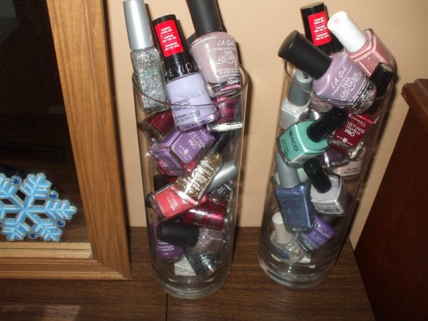 Mes vernis a ongles!!!