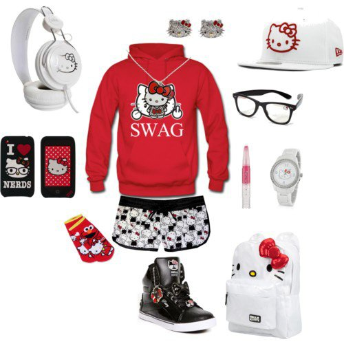 Hello kitty swag!!!!