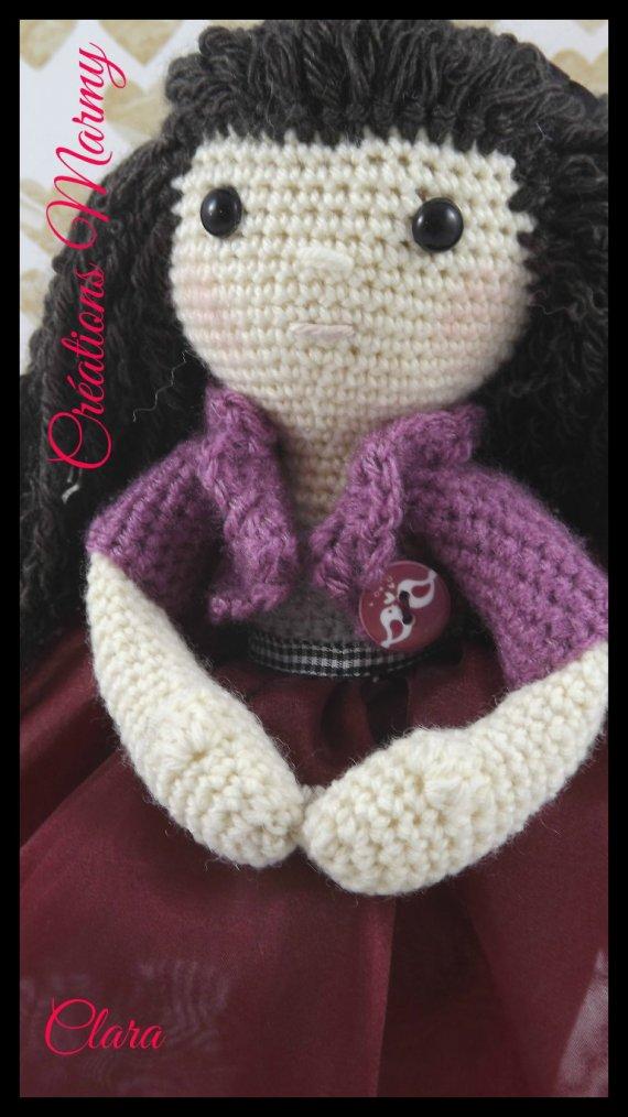 Clara ma poupée pour la St-Valentin
