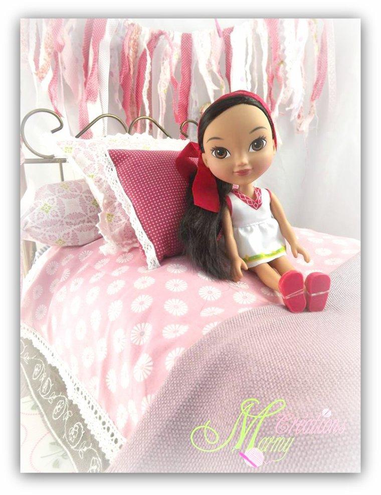 Et bien sûr les filles ont voulu essayer le lit !!!